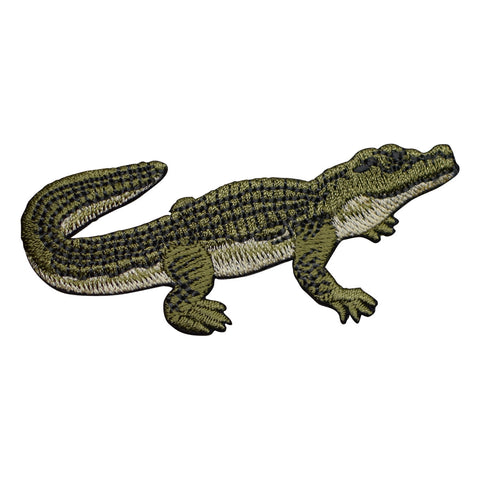 Alligator or Crocodile Applique Patch (Iron on)