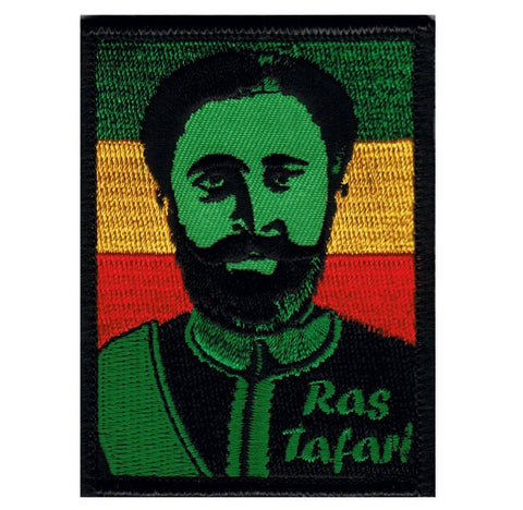 Dave Cherry's Ras Tafari Patch - Rastafarian Religion (Iron on)