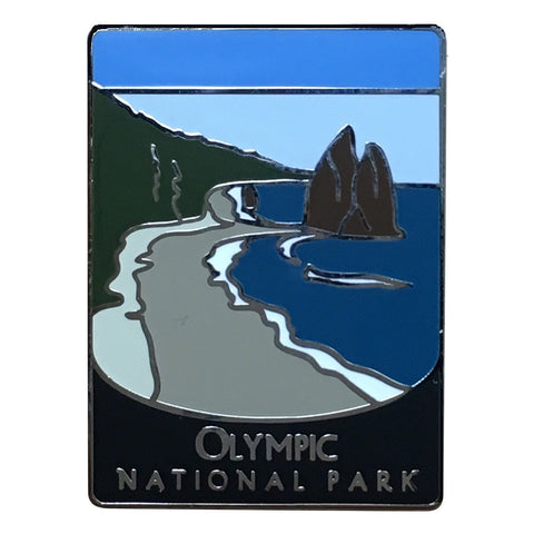 Olympic National Park Pin - Official Traveler Series - La Push, Beach