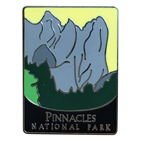 Pinnacles National Park Pin - Official Traveler Series - Volcanic Mountains, California