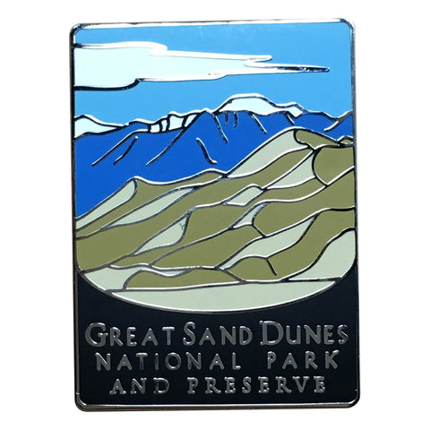 Great Sand Dunes National Park Pin - Official Traveler Series - Colorado