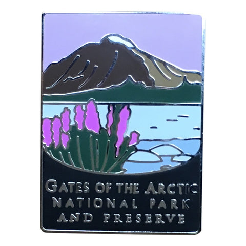 Gates of the Arctic National Park Pin - Official Traveler Series - Alaska