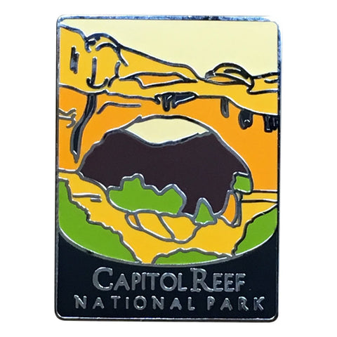 Capitol Reef National Park Pin - Official Traveler Series - Utah
