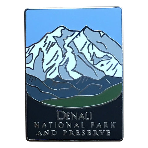 Denali National Park and Preserve Pin - Official Traveler Series - Alaska