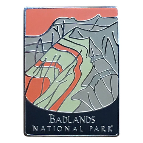 Badlands National Park Pin - Official Traveler Series - South Dakota