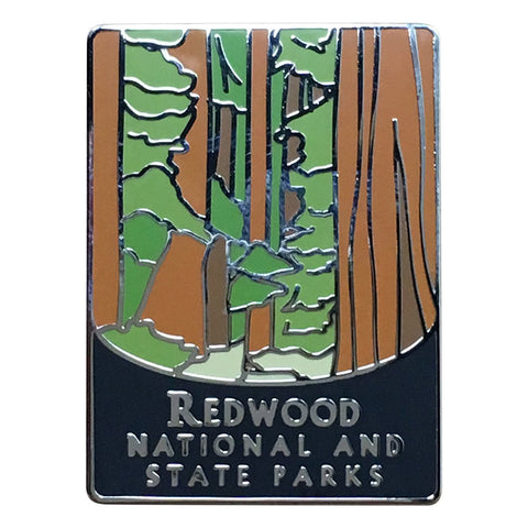 Redwood National and State Parks Pin - Official Traveler Series - Giant Sequoias, California