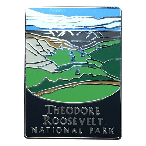 Theodore Roosevelt National Park Pin - Official Traveler Series - North Dakota