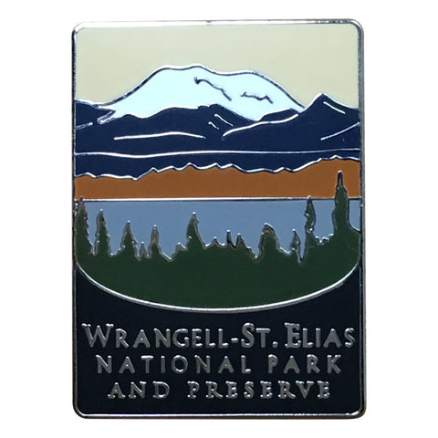 Wrangell – St. Elias National Park Pin - Official Traveler Series - Alaska