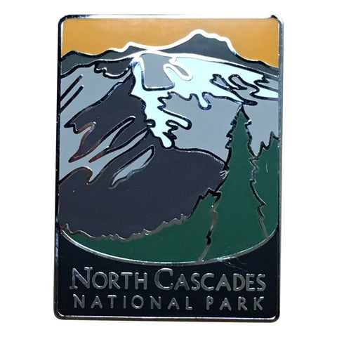 North Cascades National Park Pin - Official Traveler Series - Washington