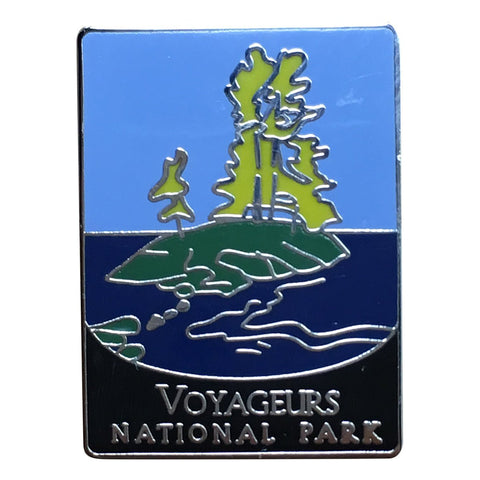 Voyageurs National Park Pin - Official Traveler Series - Minnesota