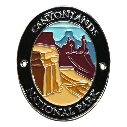 Canyonlands National Park Walking Stick Medallion - Utah