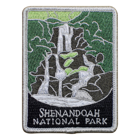 Shenandoah National Park Patch - Blue Ridge Mountains, Virginia (Iron on)