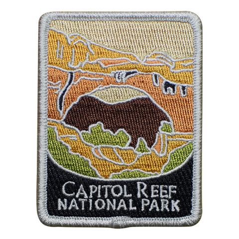 Capitol Reef National Park Patch - Official Traveler Series - Utah (Iron on)