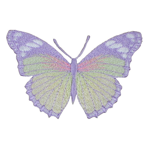 "Butterfly Applique Patch - Lavender, Insect, Wings, Antennae 3"" (Iron on)"