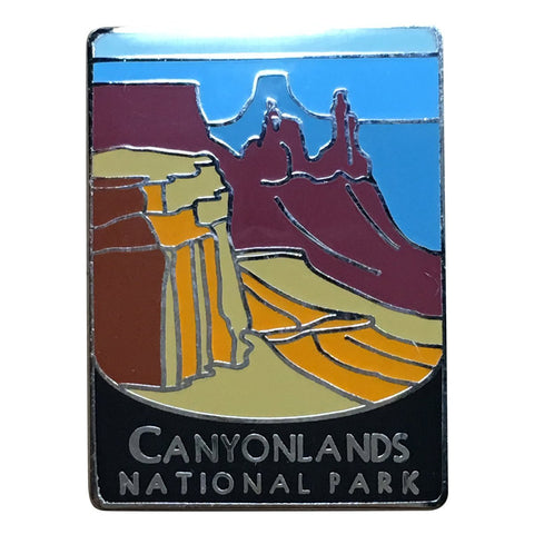 Canyonlands National Park Pin - Official Traveler Series - Utah