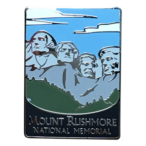 Mount Rushmore National Memorial Pin - Official Traveler Series - Washington, Jefferson, Roosevelt, Lincoln