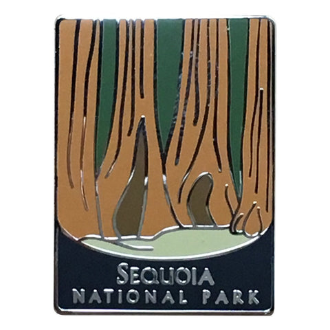 Sequoia National Park Pin - Official Traveler Series - Giant Redwoods, Sequoia Giganteum