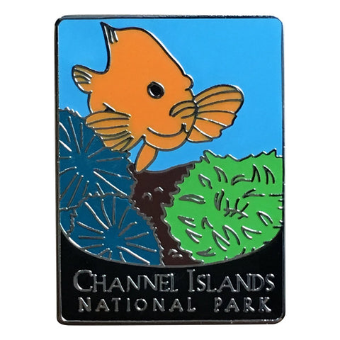 Channel Islands National Park Pin - Fish and Sealife, California