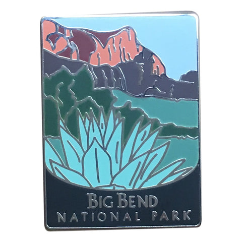 Big Bend National Park Pin - Official Traveler Series - Texas