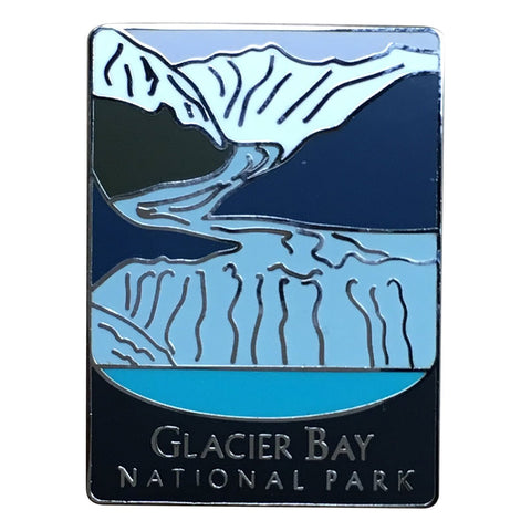 Glacier Bay National Park Pin - Official Traveler Series - Alaska