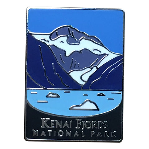 Kenai Fjords National Park Pin - Official Traveler Series - Alaska