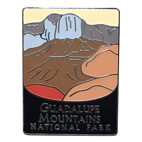 Guadalupe Mountains National Park Pin - Official Traveler Series - West Texas