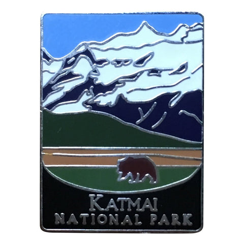 Katmai National Park Pin - Official Traveler Series - Alaska