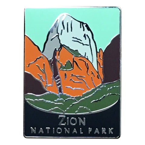 Zion National Park Pin - Official Traveler Series - Utah