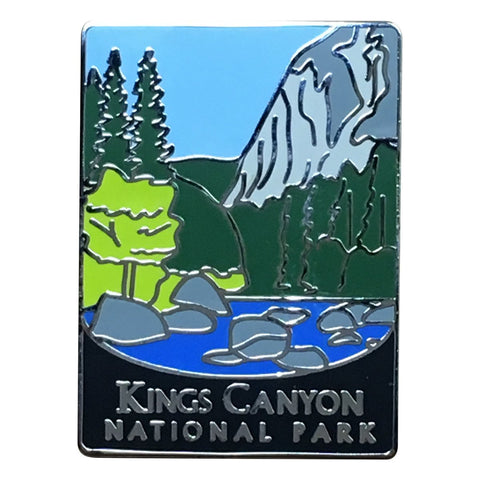 Kings Canyon National Park Pin - Official Traveler Series - Sierra Nevada, California