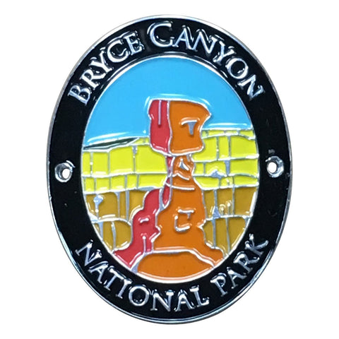 Bryce Canyon National Park Walking Hiking Stick Medallion - Official Traveler Series - Utah Hoodoo