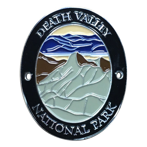 Death Valley National Park Walking Hiking Stick Medallion - Official Traveler Series - California and Nevada
