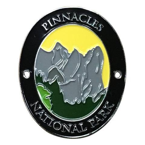 Pinnacles National Park Walking Hiking Stick Medallion - Official Traveler Series - Volcanic Mountains, California