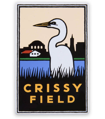 Crissy Field Magnet - Official Golden Gate National Parks Conservancy, San Francisco, California