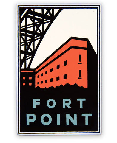 Fort Point Magnet - Official Golden Gate National Parks Conservancy, San Francisco, California