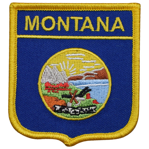 "Montana Patch - Big Sky Country, Helena, Billings 2.75"" (Iron on)"