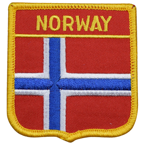 "Norway Patch - Nordic, Scandinavia, Barents Sea, Galdhøpiggen 2.75"" (Iron on)"