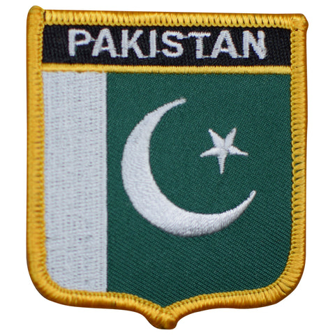"Pakistan Patch - Arabian Sea, Gulf of Oman, Islamabad 2.75"" (Iron on)"