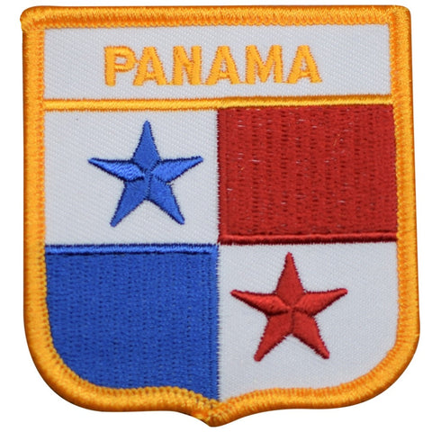 "Panama Patch - Caribbean Sea, Gatun Lake, Panama Canal 2.75"" (Iron on)"