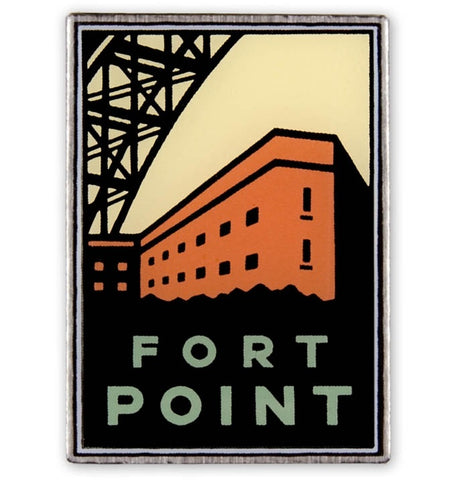 Fort Point Pin - Official Golden Gate National Parks Conservancy, San Francisco, California