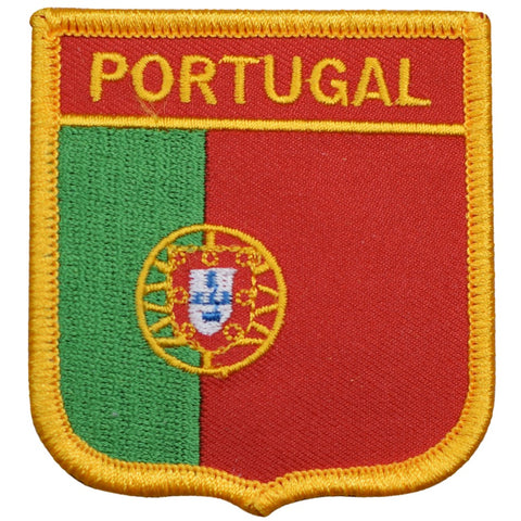 "Portugal Patch - Iberian Peninsula, Azores, Madeira, Lisbon 2.75"" (Iron on)"