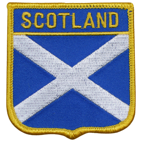 "Scotland Patch - Untied Kingdom, Edinburgh, Glosgow 2.75"" (Iron on)"