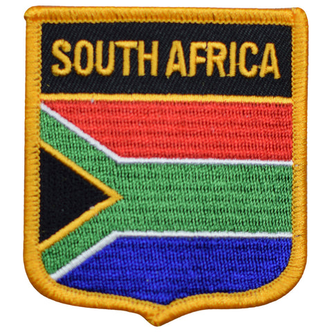 "South Africa Patch - Pretoria, Bloemfontein, Cape Town, Johannesburg 2.75"" (Iron on)"