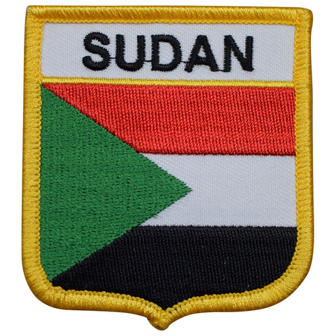 Sudan Patch (Iron on or sew on)