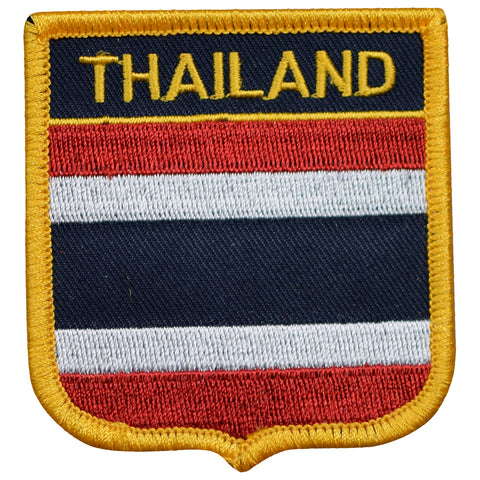 "Thailand Patch - Indochinese Peninsula, Bangkok, Andaman Sea 2.75"" (Iron on)"