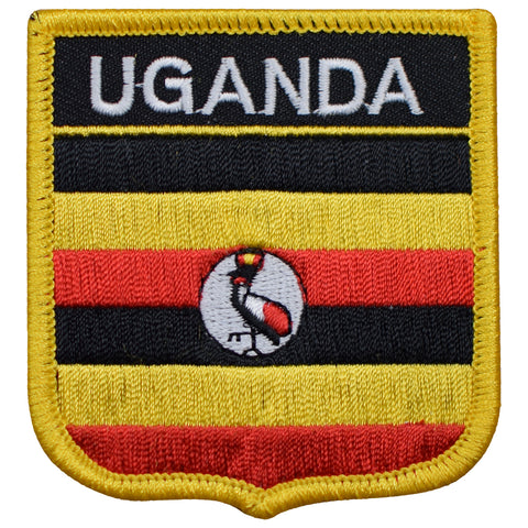 "Uganda Patch - Lake Victoria, Nile Basin, Buganda, Kampala 2.75"" (Iron on)"