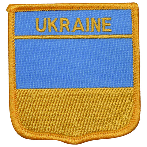 "Ukraine Patch - Kyiv, Kharkiv, Odesa, Dnipro, Donetsk 2.75"" (Iron on)"