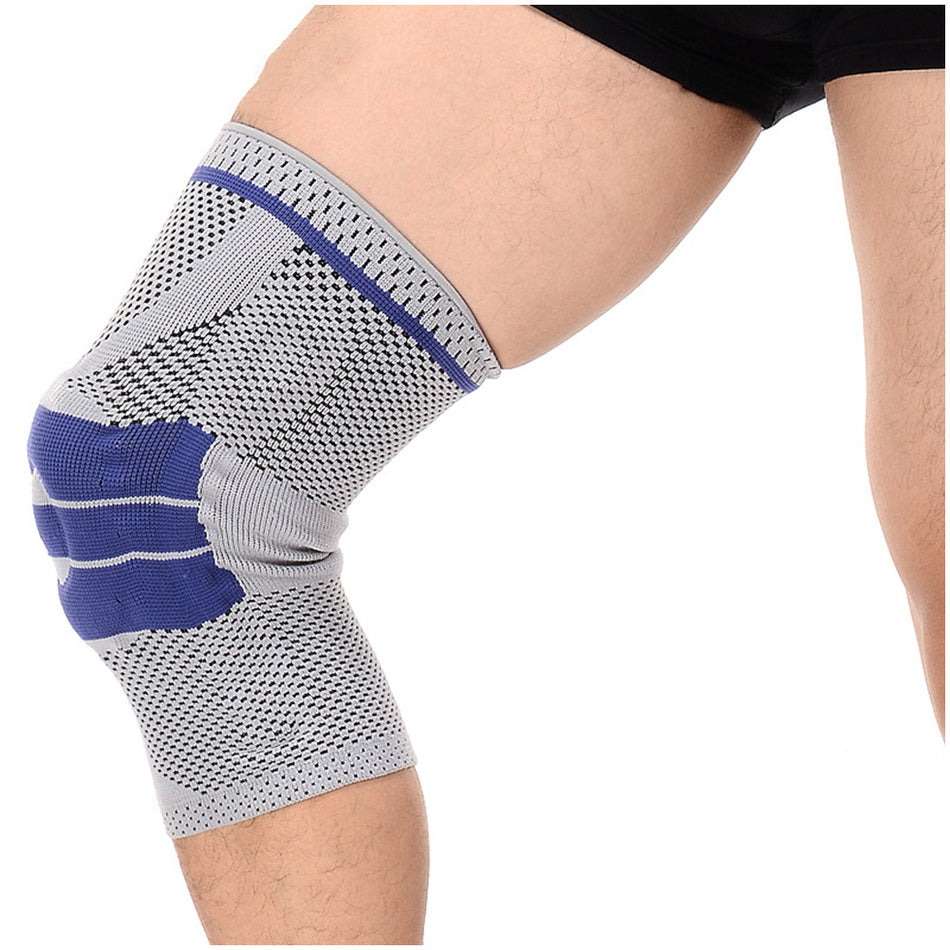 6a4f84dfb4 ... Nylon Silicone Knee Sleeve - Buy 2 Get 1 FREE Fitness Resistance Band  ...