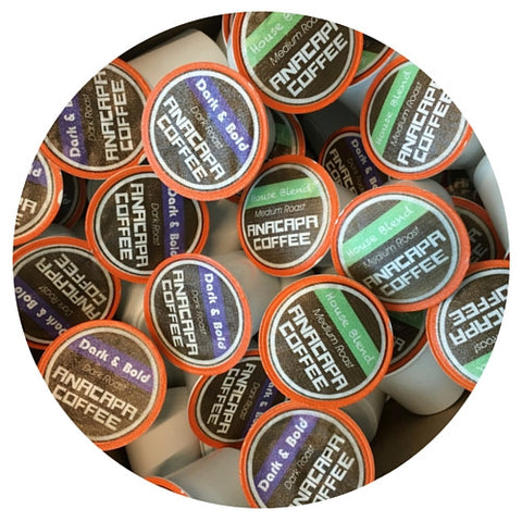 50/50 Dark & Bold + House Blend Coffee Pods