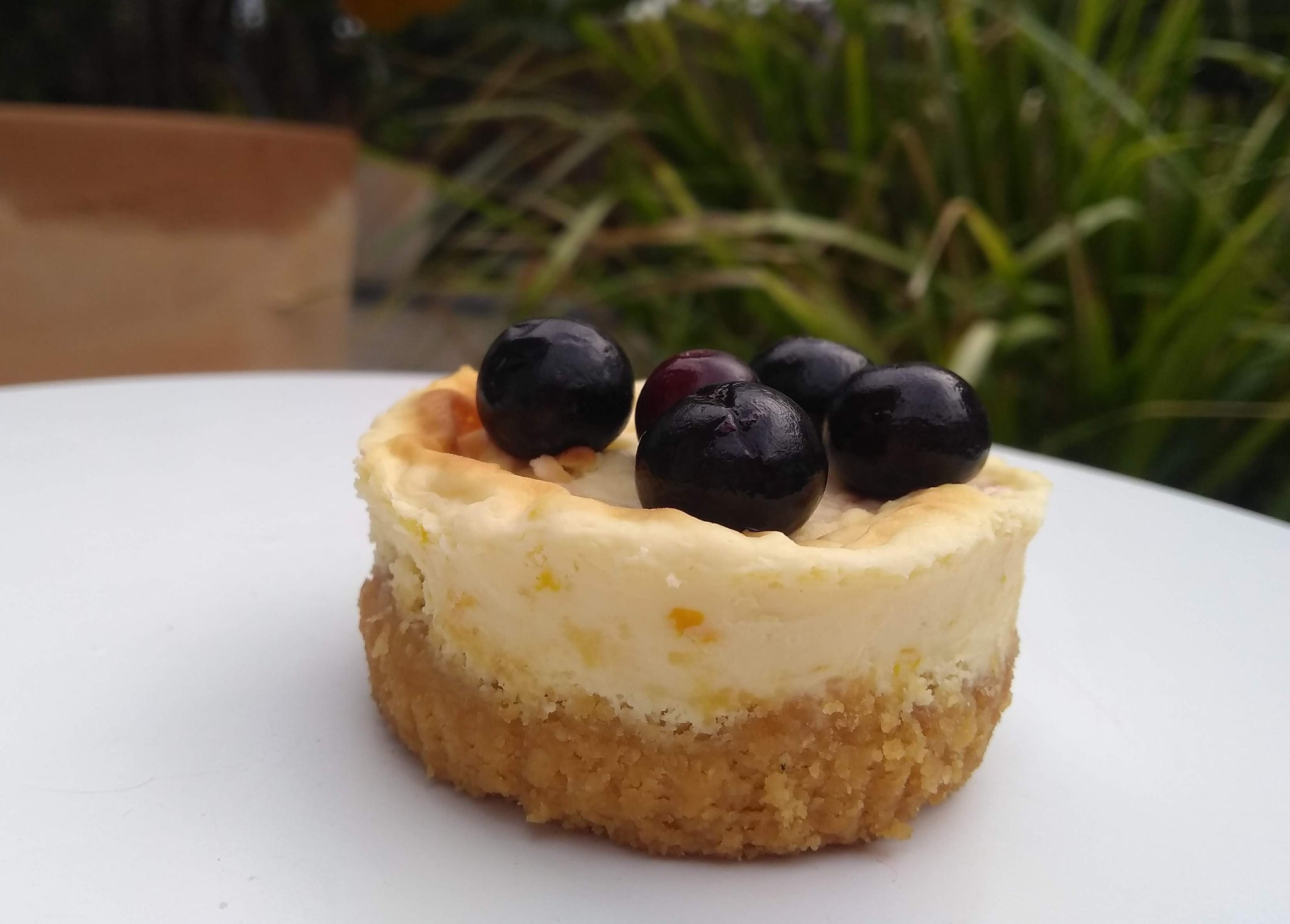 Classic baked cheesecakes
