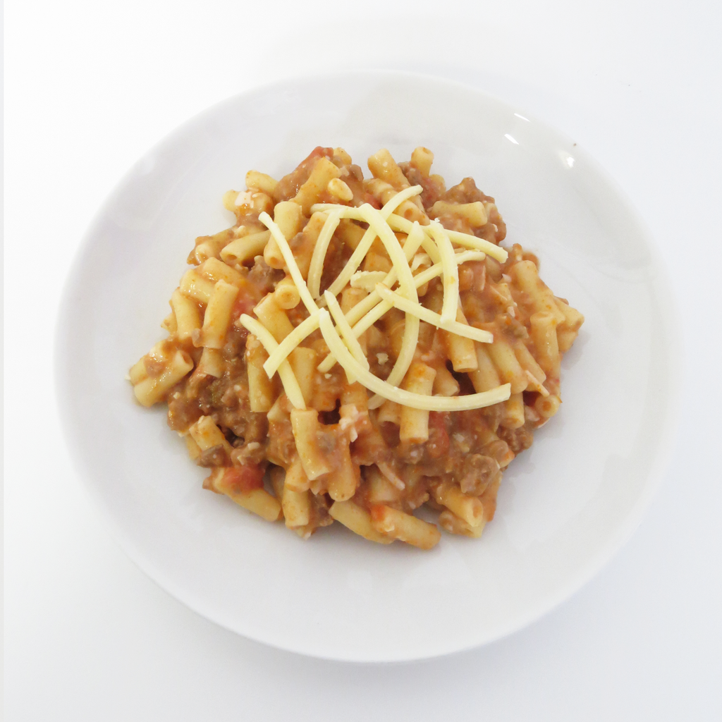 Beef Mince Bolognese Pasta Bake